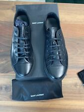 SAINT LAURENT YSL ICONIC RETRO ICON SNEAKERS TURNSCHUHE SHOES SCHUHE TRAINER 44