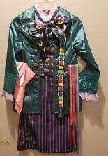 Disney Alice In Wonderland Mad Hatter Halloween Full Costume ~New~Child Sz 5-6