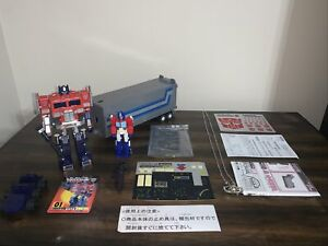 Transformers Optimus Prime G1 Convoy Takara New Year Special 2002