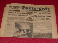 [PRESSE WW2 GUERRE 39/45] PARIS-SOIR (Allemand) # 567  24 FEVRIER 1942 Jean Zay