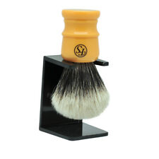 Frank Shaving Finest Badger Hair Shaving Brush w/ Butterscotch Handle 24mm Knot