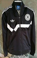 ADIDAS Originals Track Top Germania Nero/Bianco-Uk-Small-RRP £ 65