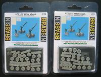 2x EDUARD BRASSIN 672143 - Victor wheels - Resin Set für Airfix kit - 1:72