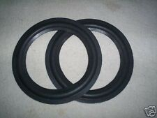 """(2) 10 in. Speaker RUBBER SURROUNDS-BEST QUALITY, fits a 7 5/8""""cone dia."""