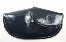 See by Chloe Midnight Blue Patent Leather Going Out Clutch