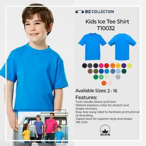 Kids Ice Tee Shirt 100% Cotton Boys Girls T-Shirt Sizes 2 4 6 8 10 12 14 16 Top