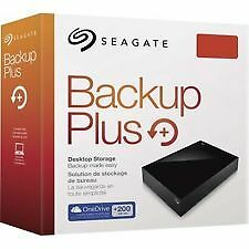 "4TB Seagate Backup Plus Usb/pow adapt.  External Hard Disk Drive 3.5"" STDT400030"