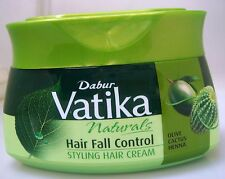 Dabur Vatika 140ml HAIR FALL CONTROL Styling Hair Cream w/ Olive Catcus Henna