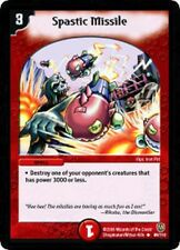 Duel Master Spastic Missile,DM-06,Stomp-a-Trons of Invincible Wrath