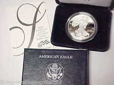 2007-W American Silver Eagle 1 oz .999 Silver Dollar Gem Proof With Box and COA