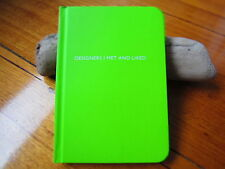 ARCHIE GRAND SMALL JOURNAL NOTEBOOK DIARY PLAIN HARDCOVER DESIGNERS GREEN
