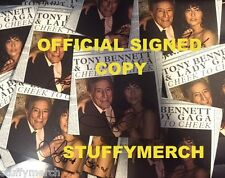 LADY GAGA CHEEK TO CHEEK SIGNED AUTOGRAPHED CD BOOK OFFICIAL JOANNE RARE Enigma