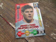 Adrenalyn World Cup 2010 England Superstar Steven Gerrard Limited Edition Card