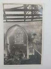 More details for ww2 blitz original real photograph holy trinity church hounslow firefighters 2