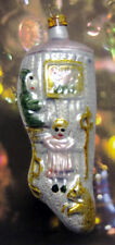"Scene on Stocking - ""Vintage Style"" Ornament From Lauscha, Germany"