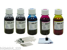 Canon PG-240 240XL CL-241 refill ink for MG2120 3120 MG4120 MG3122 5x100ml