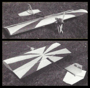 Smith Super Special Aerobatic 3-D & Fun Fly Plans, Templates & Instructions 46ws