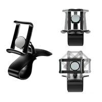 Universal Car Dashboard Phone Clip Holder Mount Stand Cradle HUD Design black yu