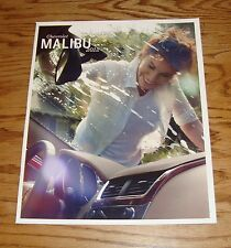 Original 2012 Chevrolet Malibu Sales Brochure 12 Chevy LS LT LTZ