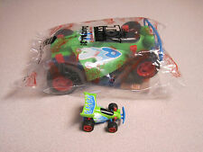 "Burger King 1996 Toy Story Andy's  Car,  * THIS IS THE LAR GE 7"" RC RACER *"