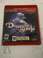 Demon's Souls Greatest Hits Sony PlayStation 3 PS3 Mint Complete w/ Manual