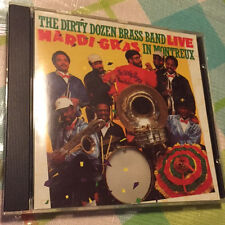 THE DIRTY DOZEN BRASS BAND Live: Mardi Gras in Montreux Rounder 1986 CD