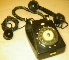 VIntage CB667 Black Rotary Phone 1976