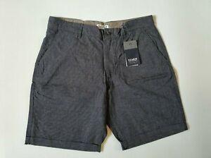 Pull & Bear Daily Standards Mens Suit Shorts W30 W32 W36 Blue Gentlemen Style
