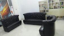 Ledersofa Chesterfield Design Polster Sofagarnitur Neu Couch Sofort lieferbar