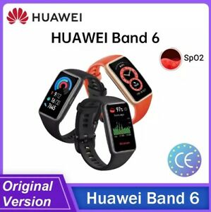 """Huawei Band 6 1.47"""" Fitness Tracker 24H SpO2 Monitor 96 Workout Modes"""