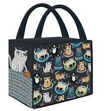 Crazy Cats Shopping Bag - Allen Designs 40x46cm