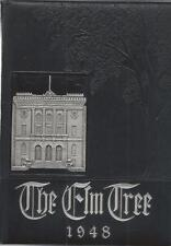 1948 NEW HAVEN/HILLHOUSE HIGH SCHOOL YEARBOOK, THE ELM TREE, NEW HAVEN, CONN
