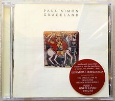 PAUL SIMON: Graceland (REMASTERED CD + Bonus Tracks) -VGC-