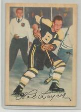1953-54 Parkhurst Hockey Hal Laycoe Card # 87 Ex-Mt Condition