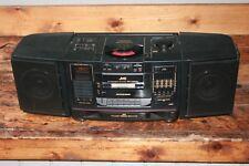 JVC PC-X200 AM/FM CD Cassette 5band Eq Hyper Bass Boombox Portable Stereo Ghetto