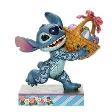 Disney Jim Shore 2020 Stitch Running With Easter Basket Figurine 6008075