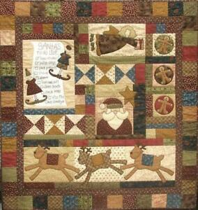 Santa's Helpers Quilt Pattern by Natalie Bird of The Birdhouse