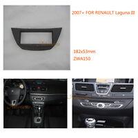 OIn dash ONE Din Car Radio Installation Trim Fascia for RENAULT Laguna III 2007+