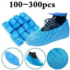 50 Pair Waterproof Boot Covers Disposable Shoe Cover Elastic Non Slip Protectors