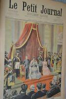 Le petit journal supplément illustré / 8 mai 1898 / Guerre Hispano Américaine