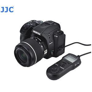 JJC TM-PK1 Câble Multi Fonction LCD Minuteur à Distance pour Pentax K70 CS-310