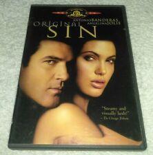 Original Sin DVD R-Rated Theatrical Version Angelina Jolie , Antonio banderas