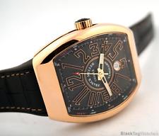 Franck Muller Automatic Vanguard V45 SC DT 5N NR 18k Rose gold Watch