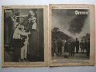 1924-1925 Ogonek Magazines - Suetin Popova - Rare Soviet Constructivism Design