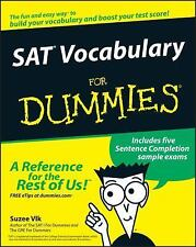 SAT Vocabulary for Dummies by Suzee Vlk (2010, E-book)