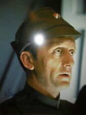 STAR WARS KEN COLLEY ADMIRAL PIETT SIGNED PHOTO CERTIFICATE OF AUTHENTICITY