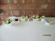 More details for a selection of royal adderley, coalport, royal doulton floral bouquets x 7 items