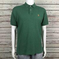 Polo Ralph Lauren Golf Polo Shirt MEDIUM Men's Green Smooth Soft Cotton