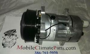 VOLVO / WHITE WX SERIES SEMI TRUCK HEAVY DUTY AC COMPRESSOR, NEW(USA)