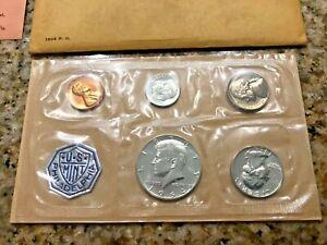1964 Proof Set With COA  Flat Pack Original Envelope  US Silver Mint Coin Set
